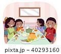 ファミリー 家庭 家族のイラスト 40293160