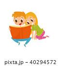 ベクトル ブック 書籍のイラスト 40294572