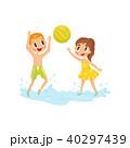少年 女の子 女児のイラスト 40297439