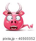 ぶた ブタ 豚のイラスト 40303352