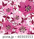 Floral seamless pattern Flower background 40303553