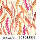 Floral seamless pattern. Ornamental Leaves 40303554