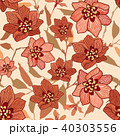 Floral seamless pattern. Flower background 40303556
