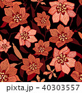 Floral seamless pattern Flower background 40303557