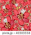 花 フローラル 絵のイラスト 40303558