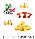 カジノ カジノの ゲームのイラスト 40304503