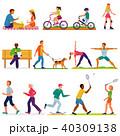 運動 人々 人物のイラスト 40309138