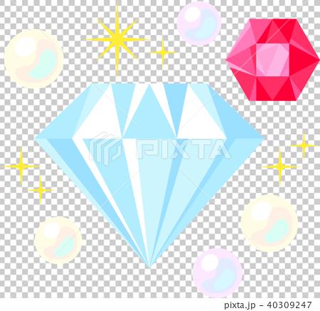鑽石和寶石 40309247