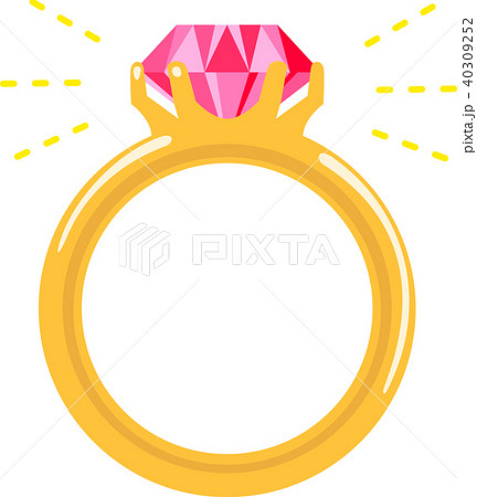 ルビーの指輪 40309252