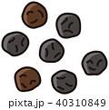 胡椒 黒胡椒 ペッパーのイラスト 40310849