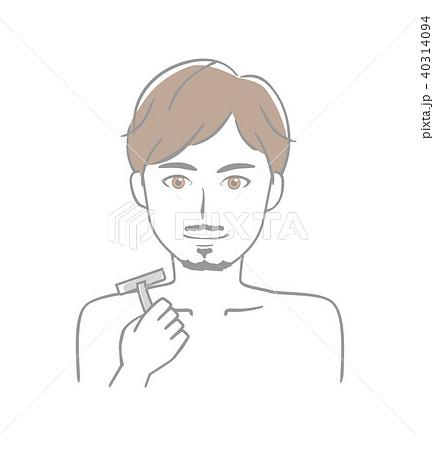 男性 ヒゲ 40314094