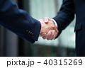 ビジネスマン 握手 ビジネスの写真 40315269
