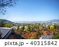永観堂 秋 紅葉の写真 40315842