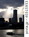 横浜 夕景 みなとみらいの写真 40315933