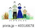 田舎に来た家族 40316678