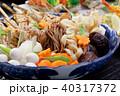 寄せ鍋 料理 和食の写真 40317372