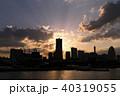 横浜 夕景 みなとみらいの写真 40319055