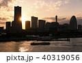 横浜 夕景 みなとみらいの写真 40319056