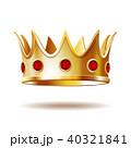 クラウン 冠 王冠のイラスト 40321841