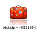 トラベル スーツケース トランクのイラスト 40321934