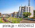晴れ 横浜 町並みの写真 40324012