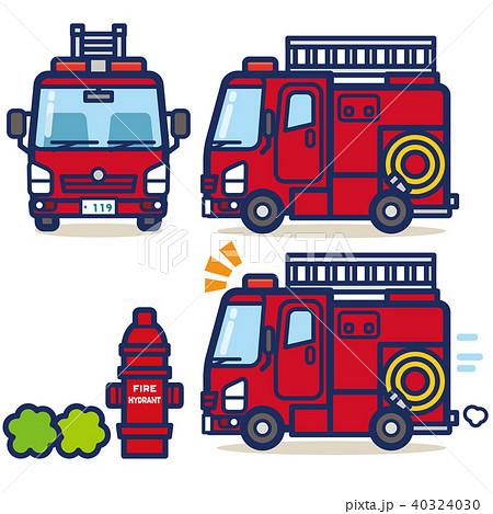 はたらく乗り物 消防車 40324030