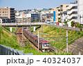 晴れ 横浜 町並みの写真 40324037
