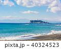 江ノ島 湘南 海の写真 40324523