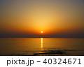 夕日 日本海 海の写真 40324671
