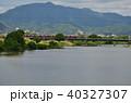 桂川 愛宕山 風景の写真 40327307