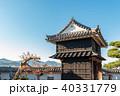 高知城 城 黒鉄門の写真 40331779
