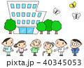 老人ホーム 特別養護老人ホーム 介護施設のイラスト 40345053