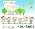 老人ホーム 特別養護老人ホーム 介護施設のイラスト 40345054