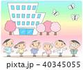 老人ホーム 介護施設 介護士のイラスト 40345055