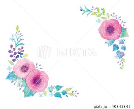 花のイラスト 40345345