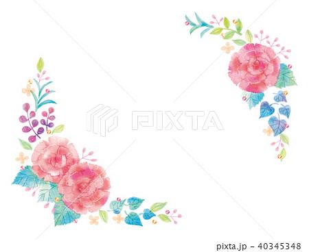 花のイラスト 40345348