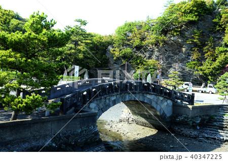 和歌浦 新緑の不老橋 40347225