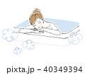 女性 入浴 全身 40349394