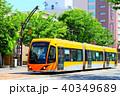 乗り物 福井鉄道 電車の写真 40349689