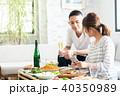 夫婦 食事 若いの写真 40350989