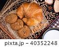 クッキー クロワッサン 穀類の写真 40352248