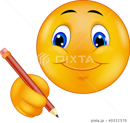 Emoticon writing 40352570