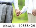 シニア 夫婦 老夫婦の写真 40353429