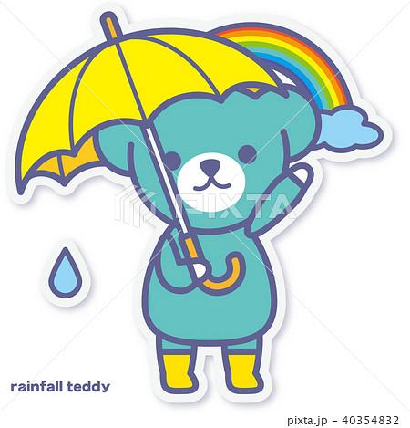 シーズンズテディ 雨上がり 40354832