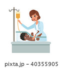 ナース 看護士 看護婦のイラスト 40355905