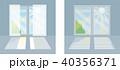 窓の日差しを遮る方法「カーテンとブラインド」 40356371