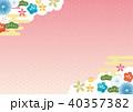 和柄 柄 背景素材のイラスト 40357382