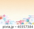 和柄 柄 背景素材のイラスト 40357384