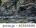 彩石江 堆積岩 岩の写真 40360686