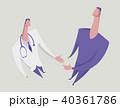 医者 患者 ベクトルのイラスト 40361786